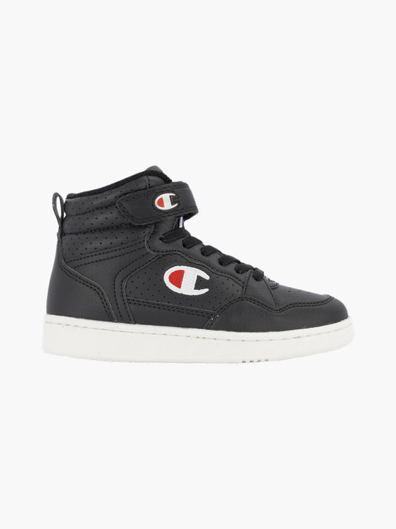 Zwarte hoge platform sneaker