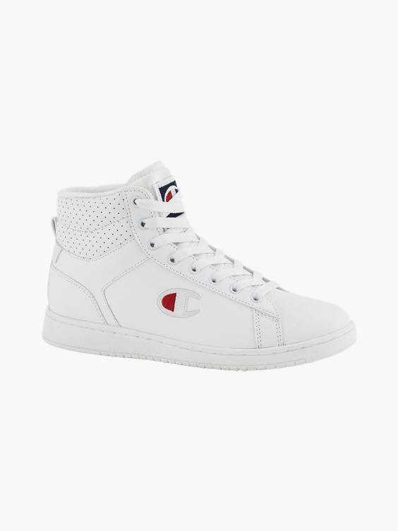 Witte hoge sneaker