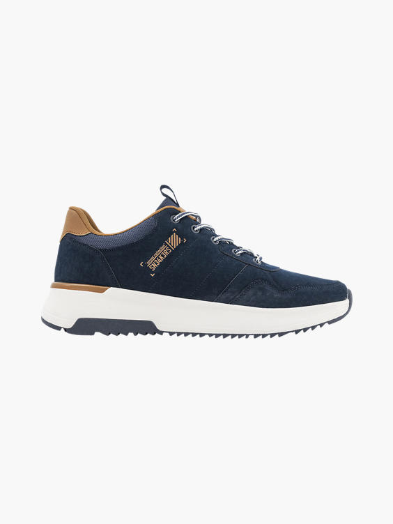Marine blauwe chunky sneaker
