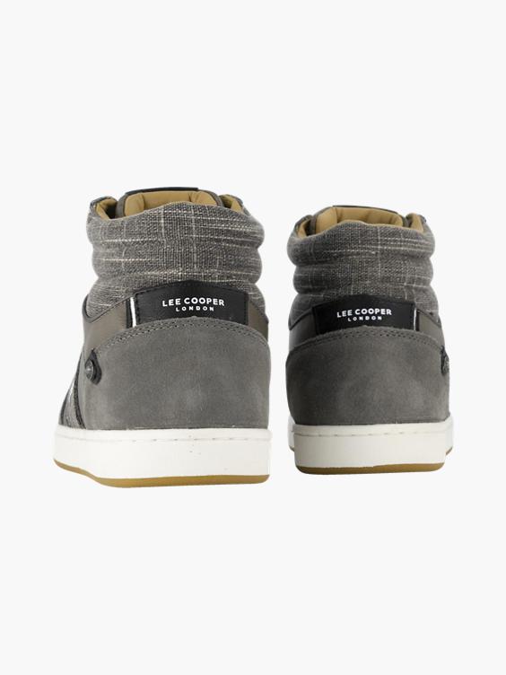 Bruine hoge sneaker