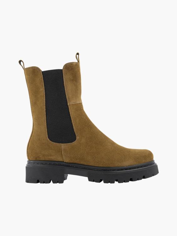 Bruine chelsea boot