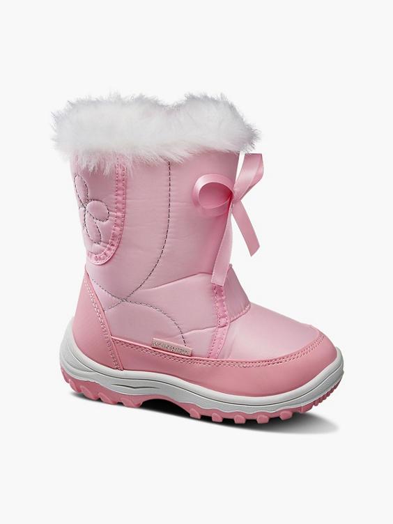 Roze snowboot strik