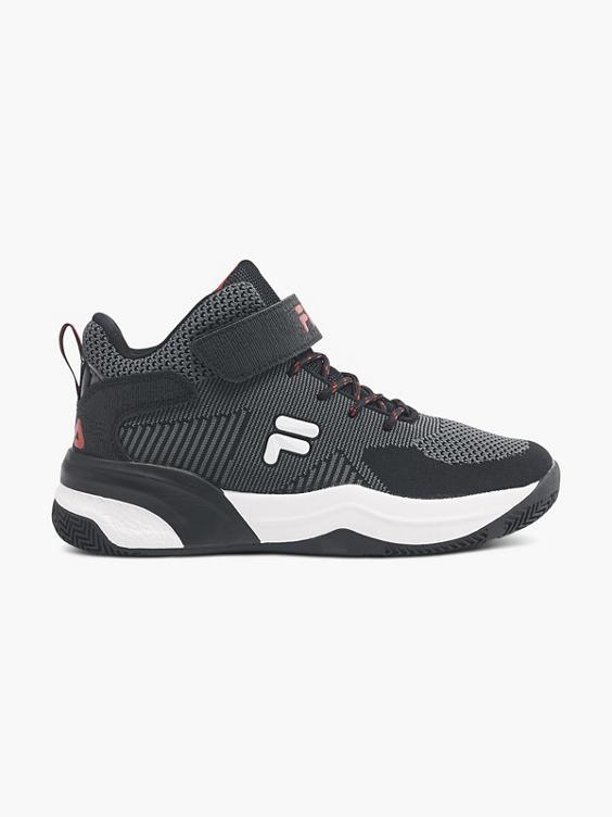 Grijze halfhoge sneaker