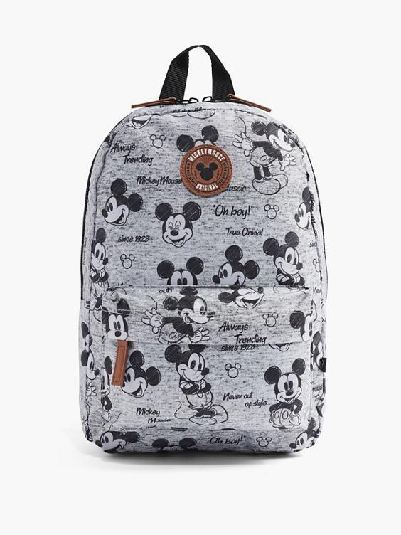 Grijze rugzak Mickey Mouse