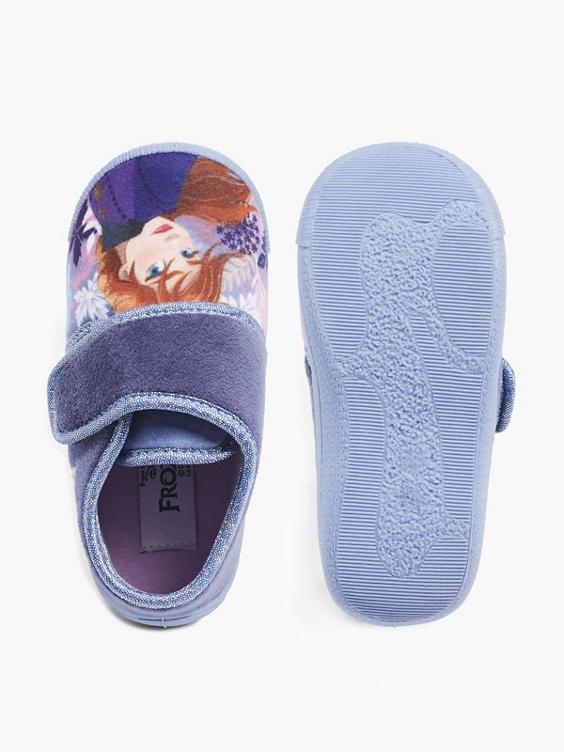 Blauwe Frozen pantoffel