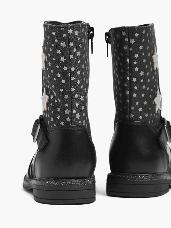 Zwarte laars sterren
