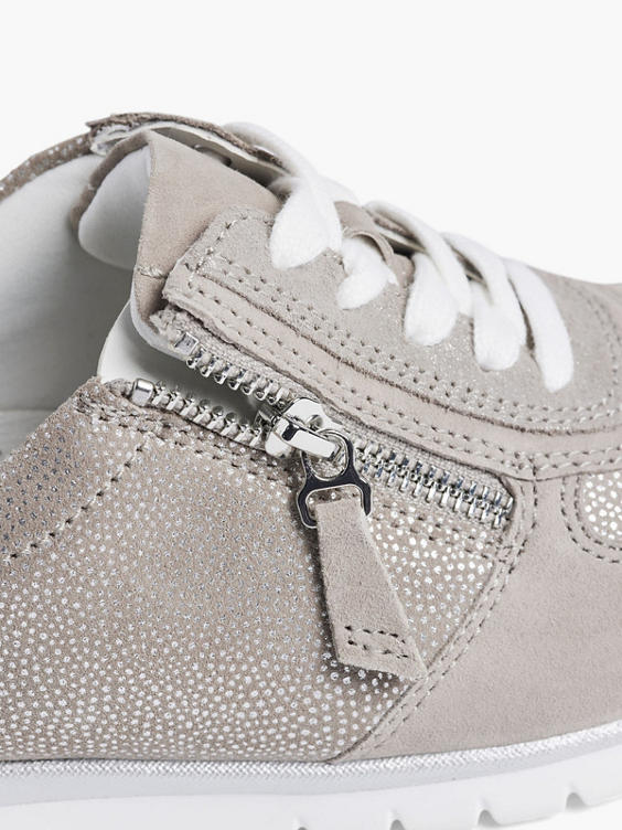 Taupekleurig suède sneaker