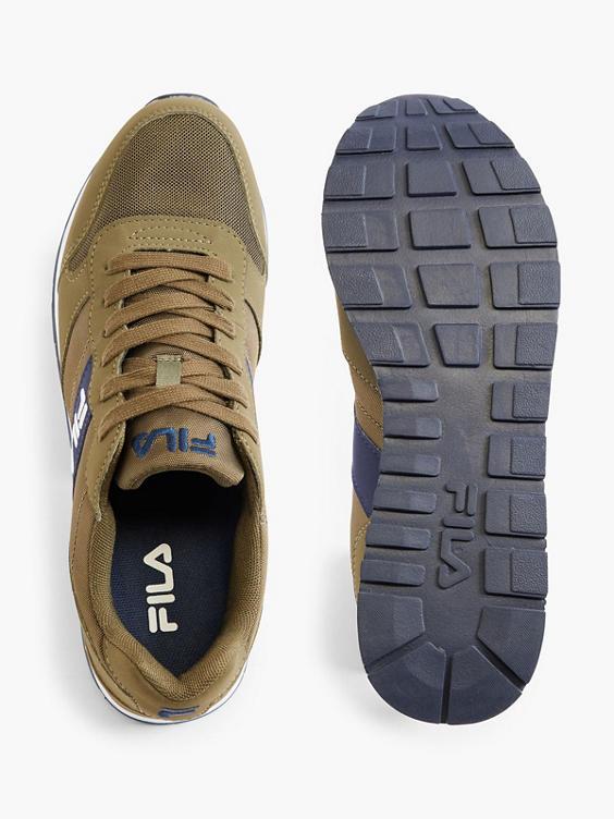 Olijfgroene sneaker