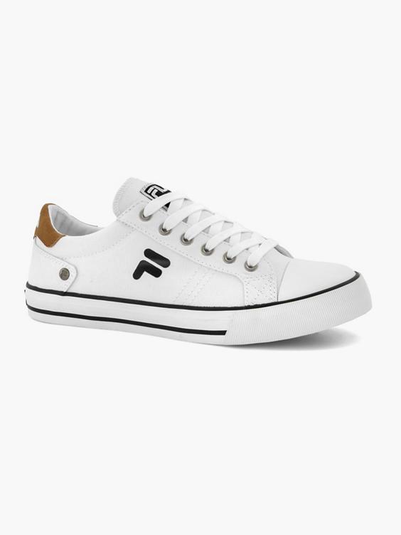 Witte canvas sneaker