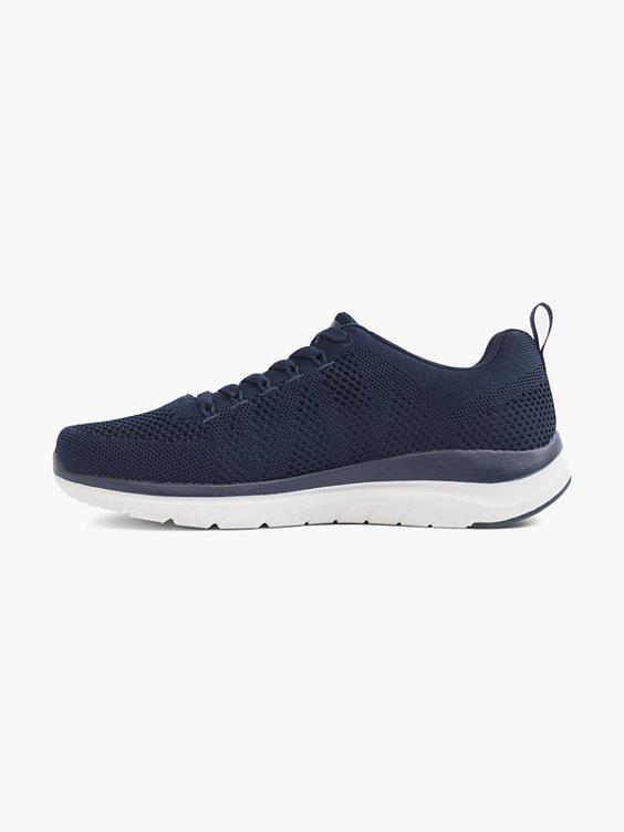 Blauwe sneaker memory foam