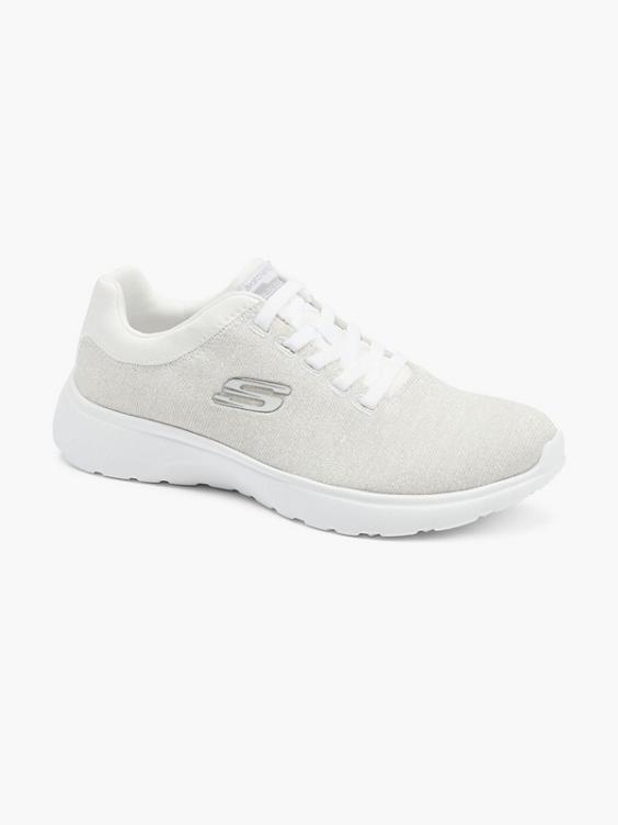 Witte sneaker memory foam