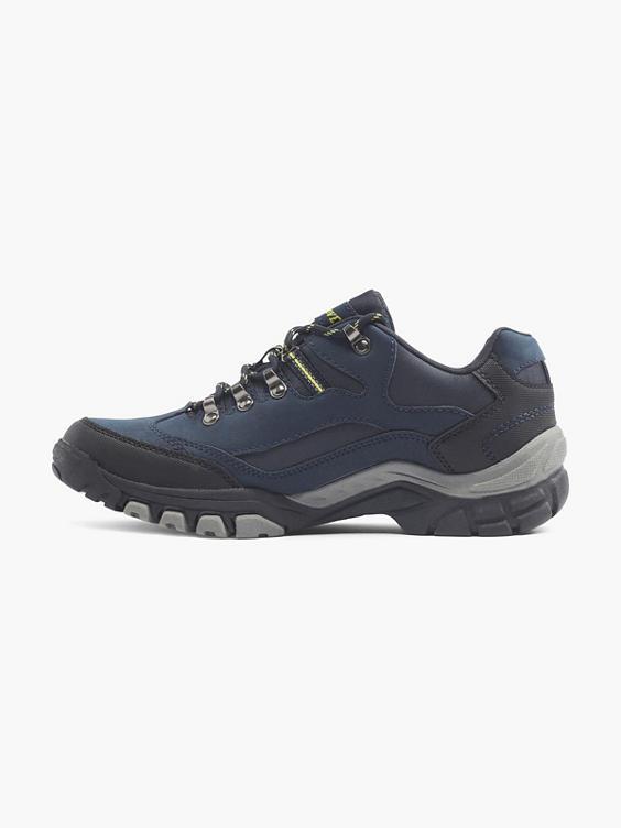 Donkerblauwe wandelschoen