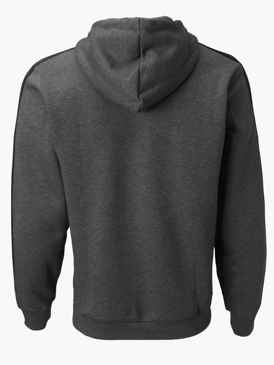 Donker grijze hoodie