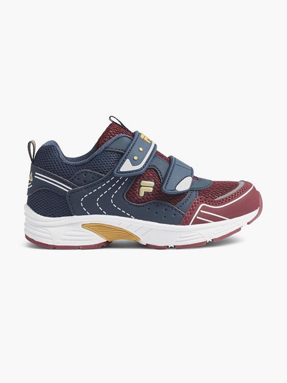 Blauwe sneaker