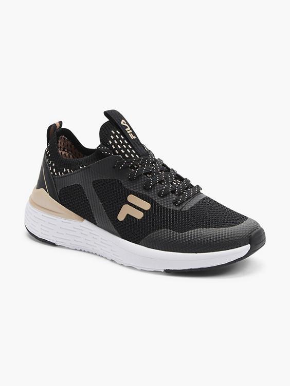 Zwarte sneaker mesh
