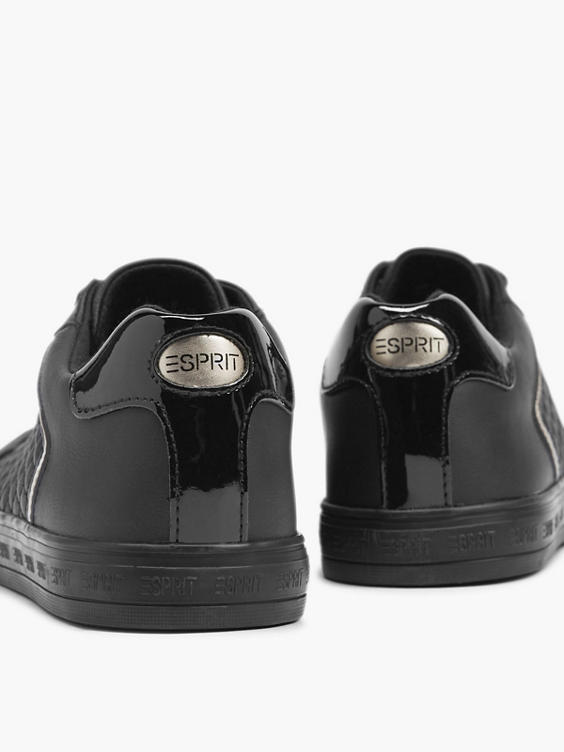 Zwarte schoenen geruit